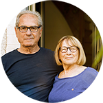 This married couple uses CardioSecur for the early detection of heart problems.
