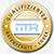"""""""Datenschutz Logo - CardioSecur erfüllt die strengen Sicherheitsstandards des Bundesdatenschutzgesetzes""""/"""