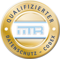 Data Protection Logo – CardioSecur fulfils the strict standards of the Federal Data Protection Act of Germany
